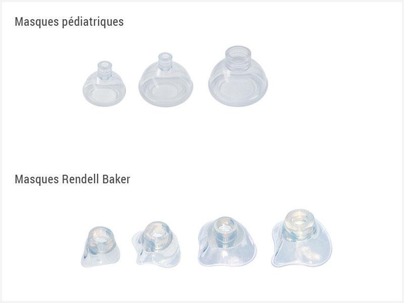 Masque pédiatrique/Masque Rendell Baker