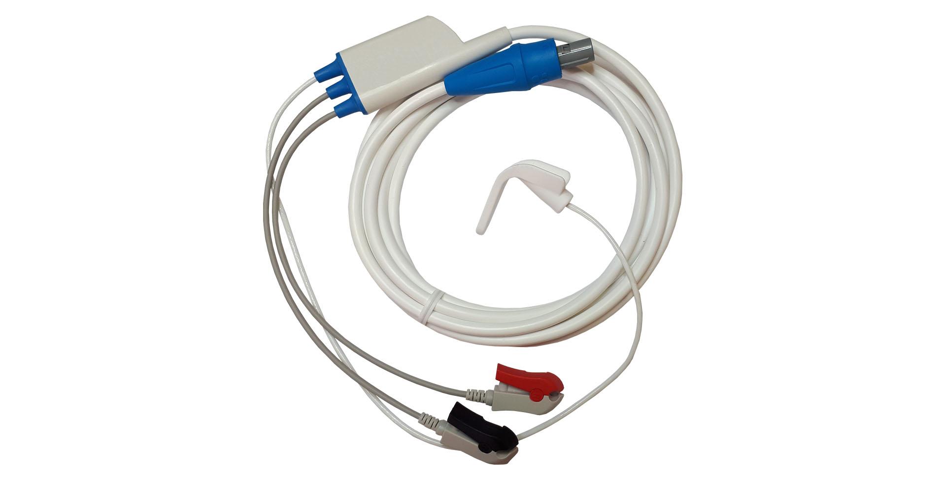 Câble capteur accéléromètre pouce pédiatrique